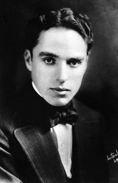 Interesting Black and White Portraits of a Young Charlie Chaplin Without His Iconic Mustache and Hat