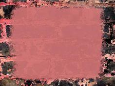 Brick pink frame template ppt backgrounds