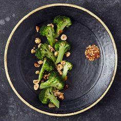 Twice-Cooked Broccoli with Hazelnuts and Garlic | Food & Wine