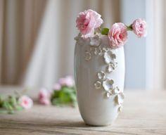 FLORAPALOOZA Vase Pristine White IN STOCK. via Etsy.