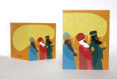 Image of We Three Kings Christmas Mini Card