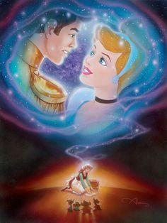 *PRINCE CHARMING & CINDERELLA ~ Cinderella.... Someday: By John Alvin
