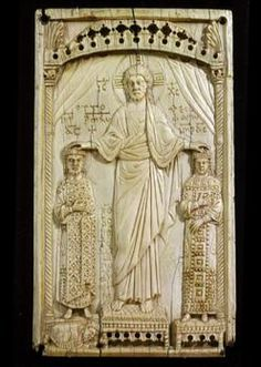 christ blessing otto ii and theophano - Google Search