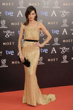 Nieves Alvarez in Ralph&Russo at 28th Goya Awards in Madrid