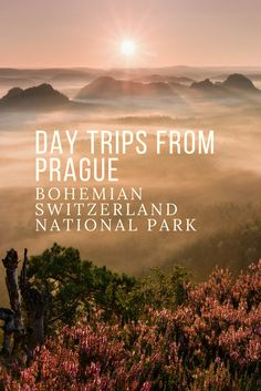 Amazing Aerial Views of Bohemian Switzerland National Park: Take a day trip from Prague to see breathtaking aerial views of this gorgeous national park in the north of the Czech Republic!