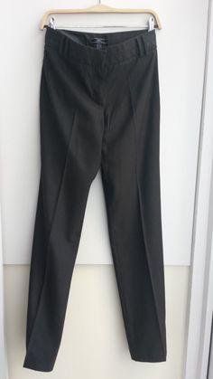 da44dd6982a8 MNG (Mango) Dark Brown Tailored Straight leg Trouser - Size 38 High Street  Brands