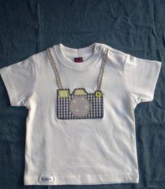 camiseta turista  camiseta de algodón 100%,tejidos  botón,cinta patchwork…