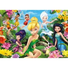 disney puzzle packs fairies   Disney Fairies - 104pc Jigsaw Puzzle from Jigsaw Puzzles Direct ...