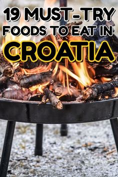 Croatia Travel Blog: Eat the local cuisine in Croatia. Here are our favorite traditional coastal and continental Croatian dishes that you must try. Click to find out more!