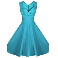 dab8b957e6b Womens Vintage Elegant Sleeveless Polka Dot 1950s Rockabilly Evening Party  Swing Cocktail Dress