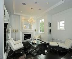 Vaulted Ceiling, Marble Fireplace, Blackwood Flooring need I say more...