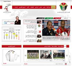 Oriental CIS ( Jordan Football Association - JFA Website Design )