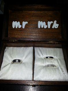 Ringendoosje #wedding #DIY