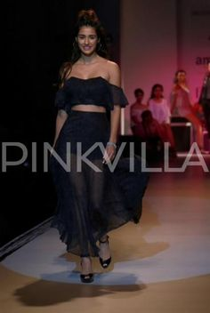 Disha Patani rocks the ramp with her jaw-dropping chic look in the capital!