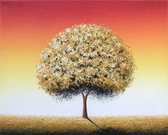 Autumn Tree Art, Oil Painting, Fall Tree Painting, Canvas Art, ORIGINAL Art…