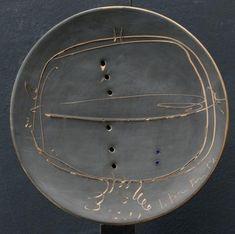 Lucio Fontana; Concetto Spaziale, 1957.