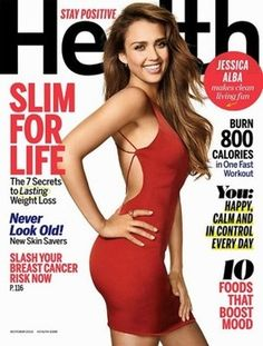 Jessica Alba talks diet, exercise and body image