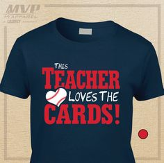 STL Cardinals T-Shirt This TEACHER Loves the by MVPaLegacyCompany