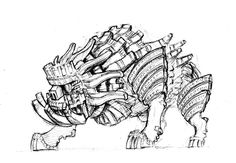 Shadow Of The Colossus Concept Sketch Gallery