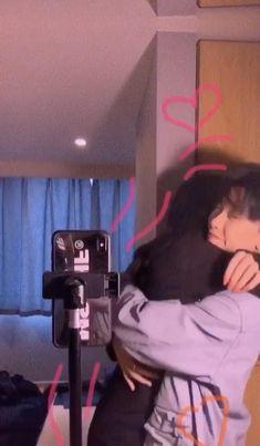 Korean Best Friends, Boy And Girl Best Friends, Korean Girl Photo, Cute Korean Boys, Aesthetic Korea, Couple Aesthetic, Cute Kawaii Girl, Cute Girl Face, Ulzzang Korean Girl