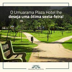 O Umuarama Plaza Hotel lhe deseja uma ótima sexta-feira! #UmuaramaPlaza #AproveiteoFimDeSemana