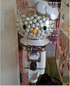 Hello Kitty Gum Ball Machine :O