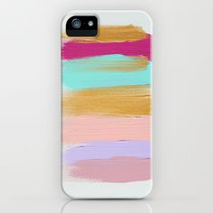 Colors 63 iPhone & iPod Case by JenRamos - $35.00