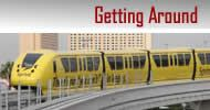 How to get around Las Vegas.  And info on how to book hotels, shows, etc.  Great info on this site.