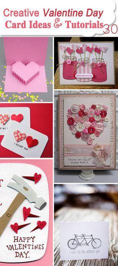 Creative Valentine Day Card Ideas