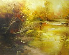 """Saatchi Online Artist: Claire Wiltsher; Oil, 2012, Painting """"Reflection in time"""""""