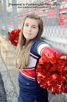 #photography #senior #color #cheerleader #pompom #ilovep3