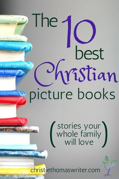 The 10 best Christian picture books / Children's Ministry, Family Faith, Children's books Christian Children's Books, Christian Kids, Christian Families, Christian Living, Christian Resources, Christian Faith, Teaching Kids, Kids Learning, Parenting Books