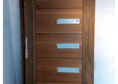 Homemade door design is or your luxury houses, you can choose fancy entrance doors prepared with glass grills or different framing. Door Design Photos, Home Door Design, Glass Panel Door, Glass Panels, Entrance Doors, Wooden Doors, Tvs, Wood Working, Filing Cabinet