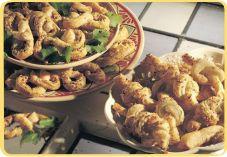Recept voor Bladerdeegknopen met kaas en kruiden