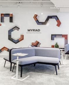 In a new era of mobile working touchdown connectivity is key. Myriad's integrated power modules truly support the work anywhere philosophy.