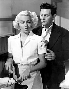 "Here's a great photo John Garfield, who was born March and Lana Turner as illicit lovers in the classic 1946 film noir ""The Postman Always Rings Twice. Old Hollywood Stars, Golden Age Of Hollywood, Classic Hollywood, Vintage Hollywood, Hollywood Icons, Hollywood Celebrities, Classic Movie Stars, Classic Movies, Old Movies"