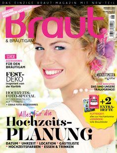 Ausgabe 6-2014 #Brautmagazin #Hochzeitsmagazin #Inspiration #Braut&Bräutigam #Brautmode #Hochzeitsmode