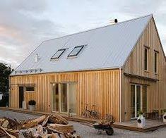 Bilderesultat for architectuur woning buitengebied zink