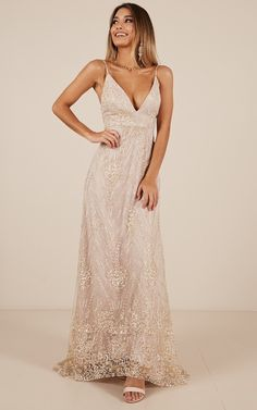 Called Out Dress In Gold   Showpo