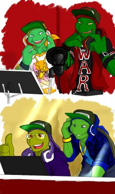 Картинки по запросу teenage mutant ninja turtles with swag deviantart Tmnt Comics, Tmnt 2012, Teenage Mutant Ninja Turtles, Tmnt Swag, Tmnt Human, Manga, Tmnt Girls, Dragon Ball, Mikey