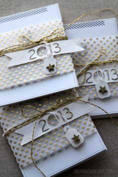 New Year's card inspiration from inspirationave.com                                                                                                                                                      Plus