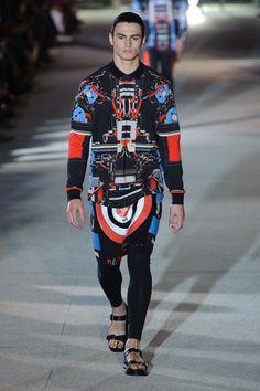 Givenchy Menswear SS14 21 Givenchy Menswear SS14 Catwalk