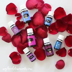 Pro tip for you: you may not have purchased rose oil yet but there are a lot of Young Living blends that have rose in them!  Chances are you have one of those to get similar benefits!  Check out your reference materials for a full list but some of them are Joy, Forgiveness, Envision, Dream Catcher, Awaken, Release, and White Angelica.