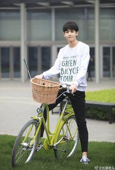 """Happiest Birthday to my cutie baby Wei~! Beautiful Boys, Pretty Boys, Korean Drama Songs, Song Wei Long, Hot Song, Chinese Man, Summer Boy, Ulzzang Boy, Cute Korean"