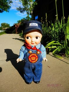 1950's BUDDY LEE DOLL Moffat Road Railroad Engineer