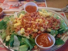 Bettys Salad is a regional, Midwest salad created by Betty Timko and featured as a menu item at her restaurant, Timkos Soup and Such, in Toledo, Ohio. The restaurant was located in a brick building at the Northwest corner of Sylvania and Douglas Roads of the Devaux Village strip mall in West Toledo. After Betty died, the restaurant closed, and her signature salad dressing is still produced and distributed at regional grocery stores.