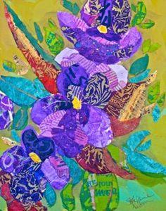 Iris by Elizabeth Saint Hilaire Nelson.