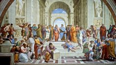 Vatican Museums: Raphael's rooms - The School of Athens