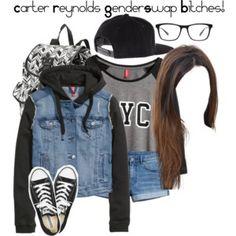 Carter Reynolds Genderswap