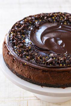 Triple Chocolate Cheesecake Really nice recipes. Every #hashtag